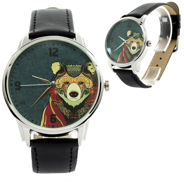 jewels bear watch watch ziz watch ziziztime funny watch cool watch