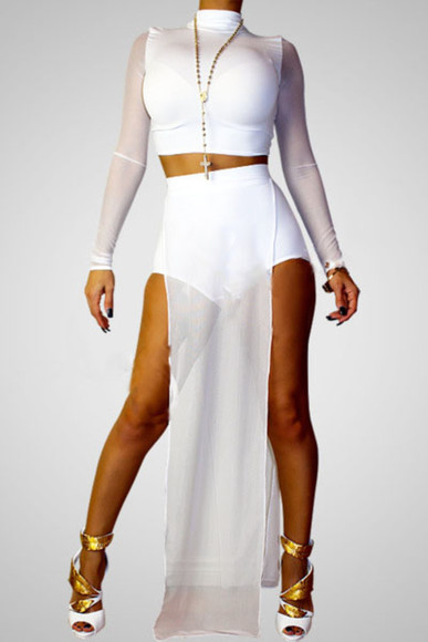 mesh bodysuit shoes dress white mesh insert bodycon dress white pool wear