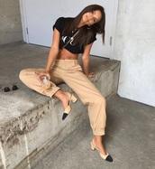 pants,women's trousers,beige