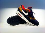 shoes,air max,nike shoes with leopard print