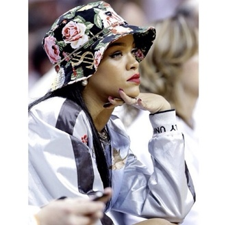 hat bucket hat rihanna fashion black girls killin it los angeles new york city nyc fashion blouse