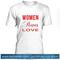 Women power love t shirt