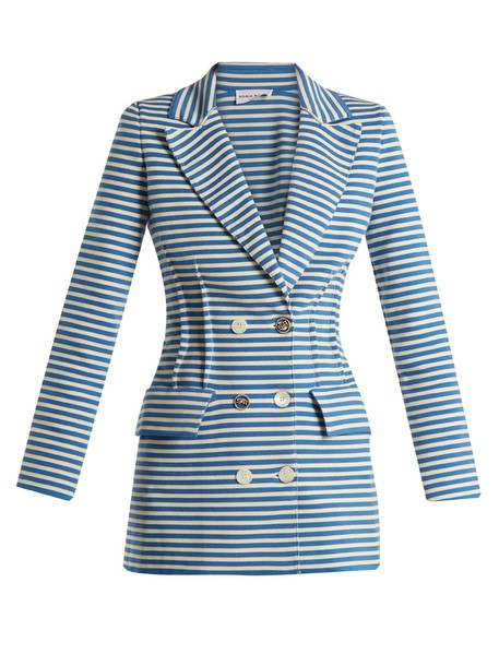 Sonia Rykiel jacket cotton blue