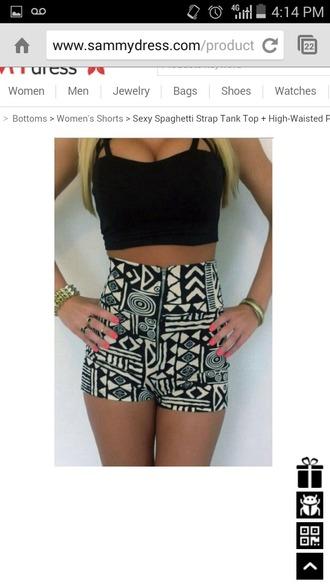 shorts black shorts