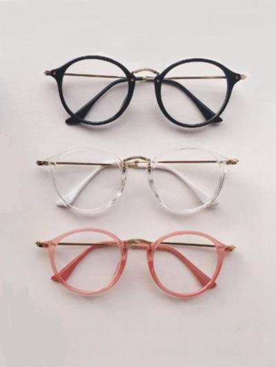 Aesthetic Round Glasses 183 Eggsthetic 183 Online Store