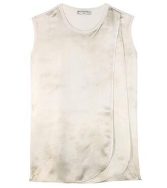 top silk white