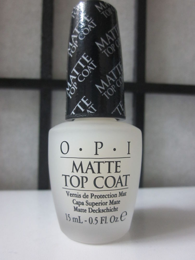 OPI Matte Top Coat T35 15 ml 5 FL Oz | eBay