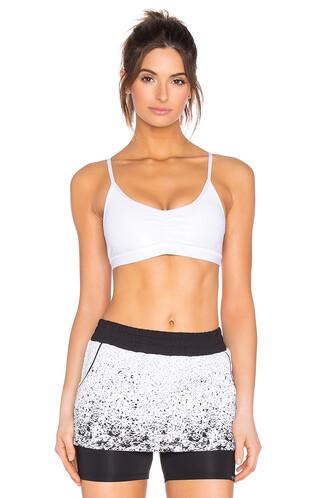 bra sports bra white