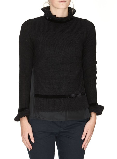 moncler sweater black