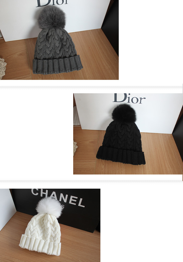 New 2013 Winter Cap Women Warm Woolen Knitted Fashion Hat For Gilrs real fur ball Beanie Cap Woman Fur Cap Accessories-in Skullies & Beanies from Apparel & Accessories on Aliexpress.com