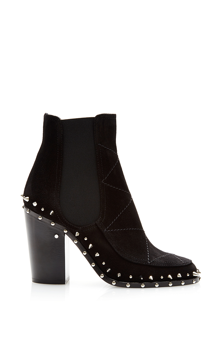 Flynn studded leather boots by laurence dacade