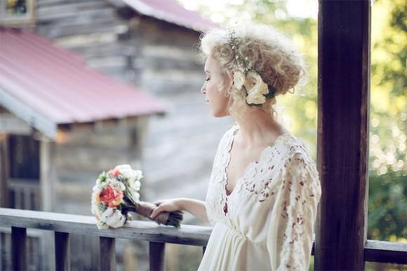 boho vintage bcbg wedding dress
