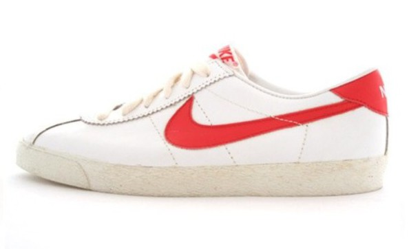 Red And White Nike Shoes Marty Mcfly