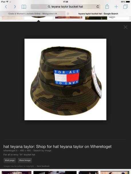 bucket hat camouflage hat