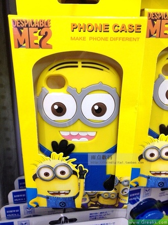 jewels despicable me minion yellow phone phone case