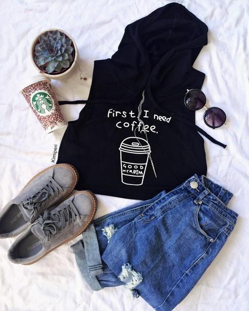 kimi peri blackrush blogger t-shirt jeans skirt shoes belt make-up