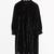 & Other Stories | Wrinkly Velvet Dress | Black