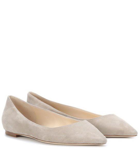 Jimmy Choo suede beige shoes