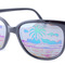 Tropicana-nc black  |  vintage mirrored sunglasses