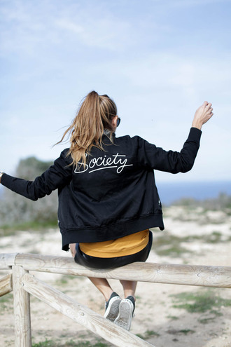 jacket tumblr black jacket black bomber jacket bomber jacket embroidered jacket embroidered customized