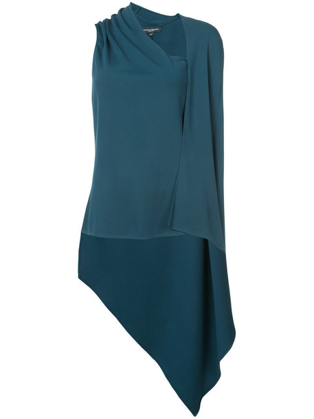 NARCISO RODRIGUEZ top women spandex green