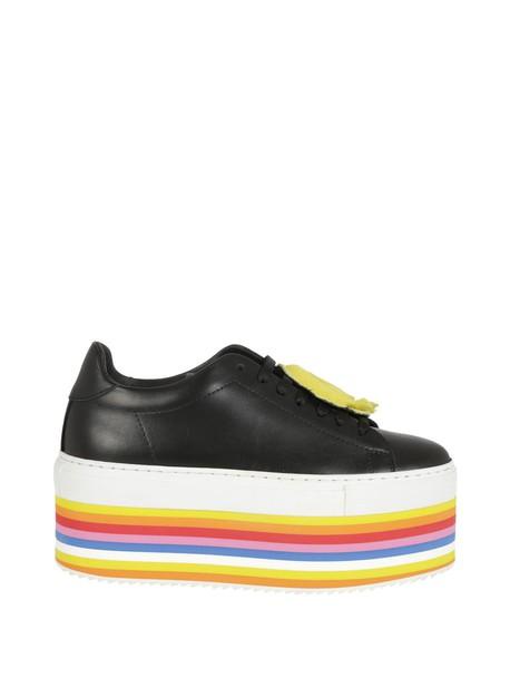 Joshua Sanders sneakers platform sneakers black shoes