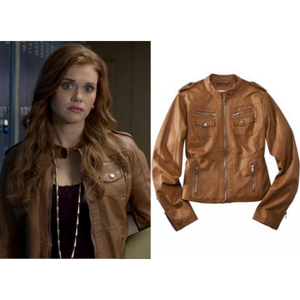 Lydia Martin Teen Wolf Holland Brown Jacket