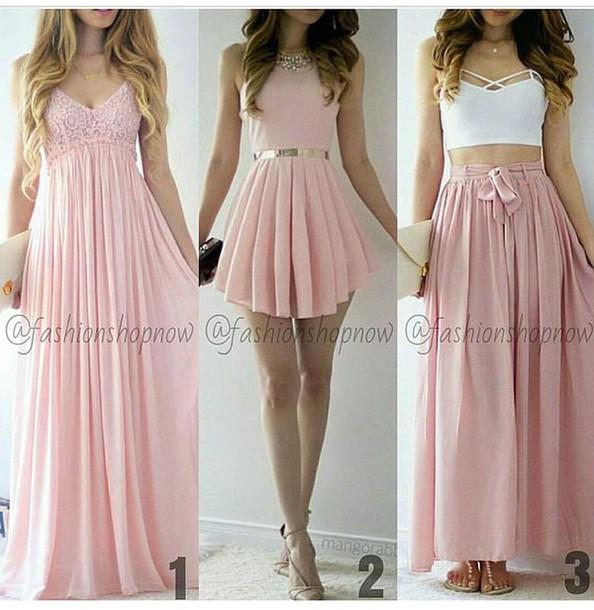 Cute pink lace tulle short prom dress 70552de0b