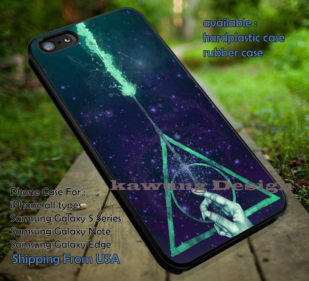 GALAXY HALLOWS iphone case