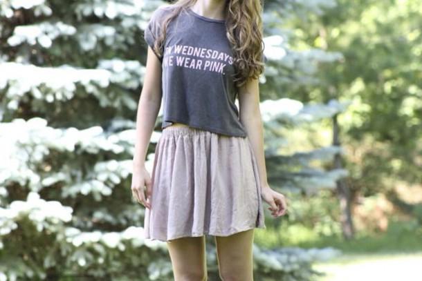 e2464bbb shirt alternatives wish ootd on wednesdays we wear pink brandy melville