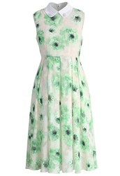 dress,chicwish,chicwish.com,icy green flowers dress,chiffon dress,midi dress,chiffon midi dress,floral dress,green dresss