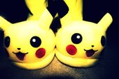 shoes,slippers,yellow,pikachu