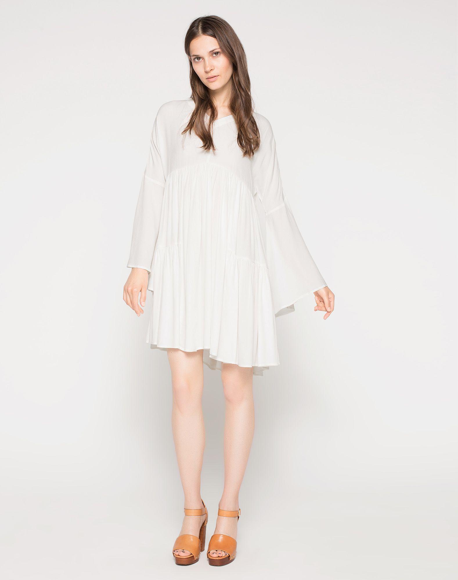 Weites Kleid aus Viskose 'Nasha'