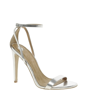 River Island | River Island - Barely There - Sandales à talons chez ASOS