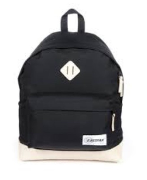 bag light color leather eastpack