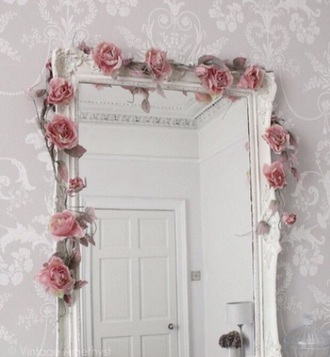 home accessory white mirror full length
