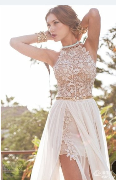 embellished nude homecoming dress classy