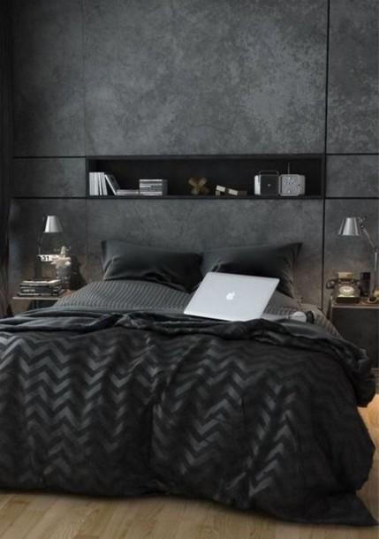 bedding home decor black classy