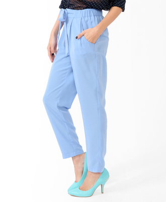 pants blue blue harem pants harem pants forever 21 blue pants light blue