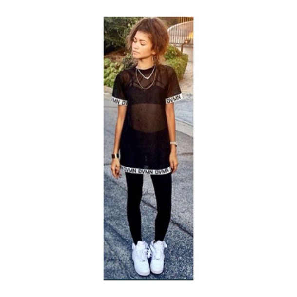 Zendaya swag it out outfit
