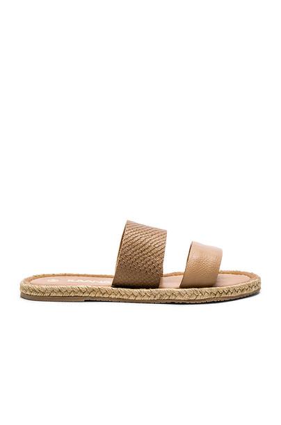 Kaanas Haiti Two Strap Sandal in brown