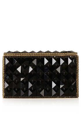 Diamante Clutch Bag - Dear Siouxsie  - Clothing  - Topshop