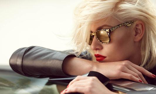 Oversized & aviator sunglasses