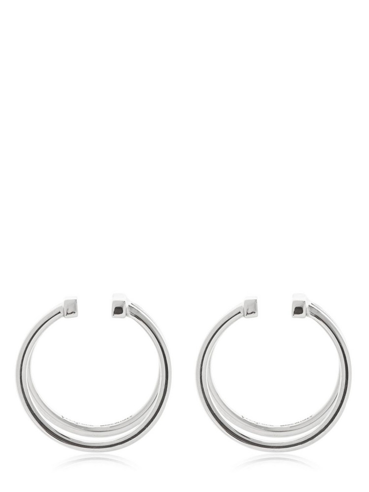 VITA FEDE Valentina Set Of 2 Lobe Cuffs in silver