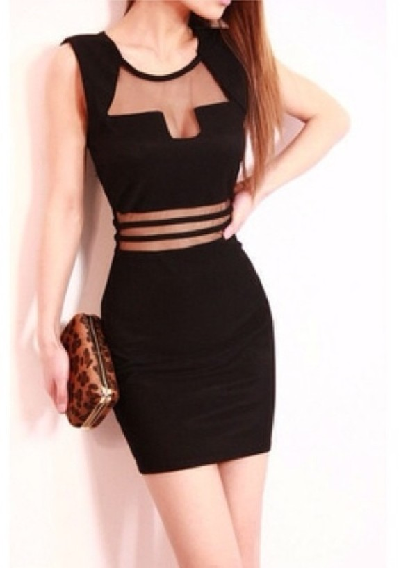 Shear Bodycon Dresses