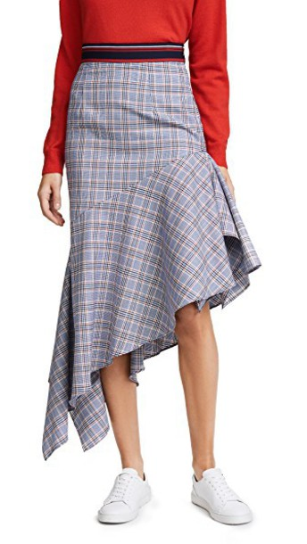 MILLY skirt wool