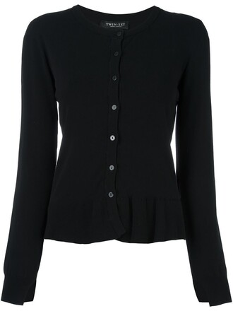 cardigan women black sweater