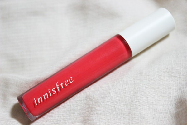 make-up korean fashion lip tint mousse sweet fresh coral lips lip tint coral lip gloss innisfree korean fashion south korea sweet kawaii asian asia