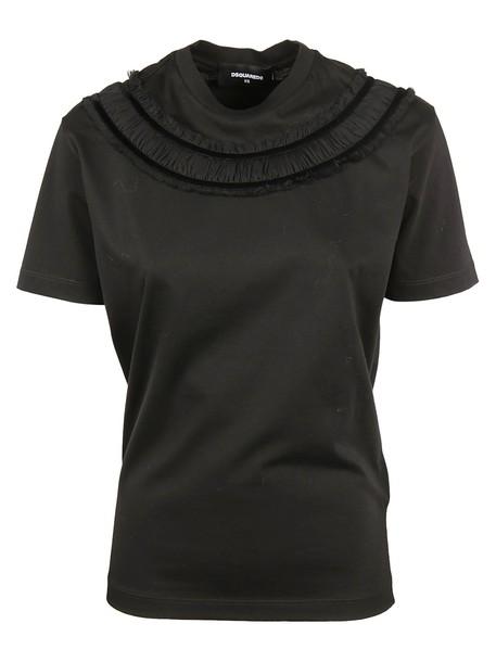 Dsquared2 t-shirt shirt t-shirt black top