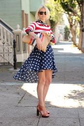 atlantic pacific,polka dots,dress